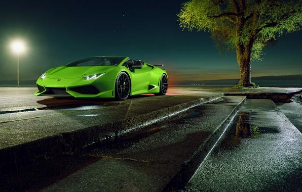 Picture Lamborghini, supercar, convertible, Spyder, spider, Lamborghini, Novitec Torado, Huracan, hurakan