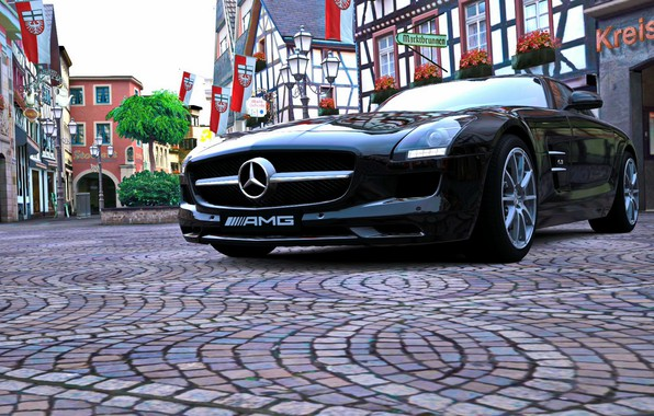 Picture AMG, GT5, Mercedes-Benz SLS