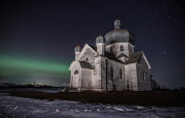 Picture Night, Church, Forgotten, Saskatchewan