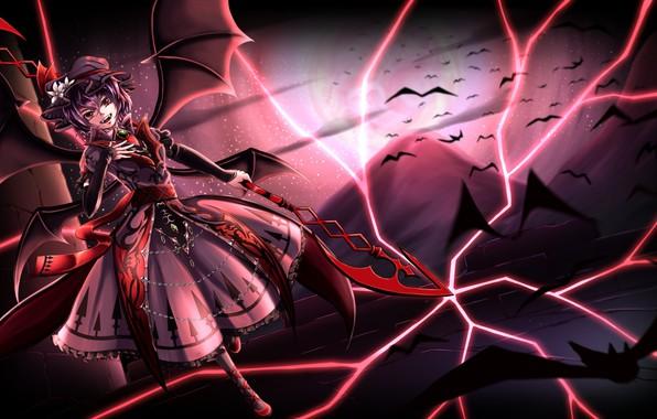 Photo Wallpaper Girl Smile The Demon Touhou