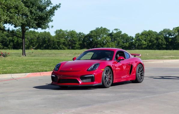 Photo wallpaper Porsche, Cayman, GT4