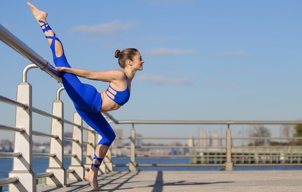 Picture girl, flexibility, figure, charging