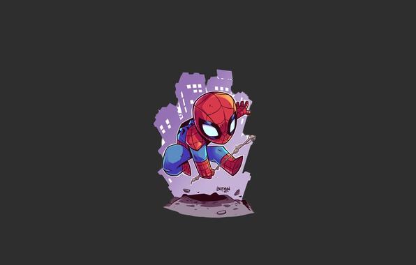 Picture spider, man, boy, Marvel, Parker, Spider-man, hero, Marvel Comics, Spider-Man, Peter Parker, Spiderman, Peter, yuusha