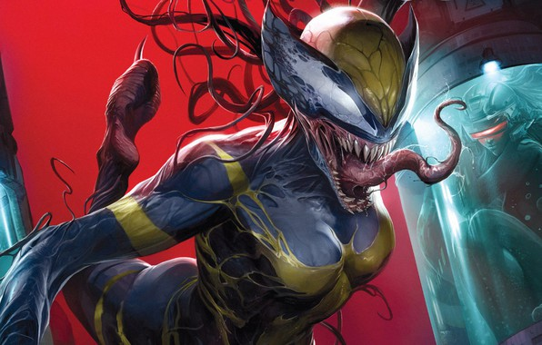 Picture Girl, Language, Girl, Teeth, Costume, Comic, X-Men, Marvel, Comics, Venom, Venom, Symbiote, X-23, Marvel, Comics, …