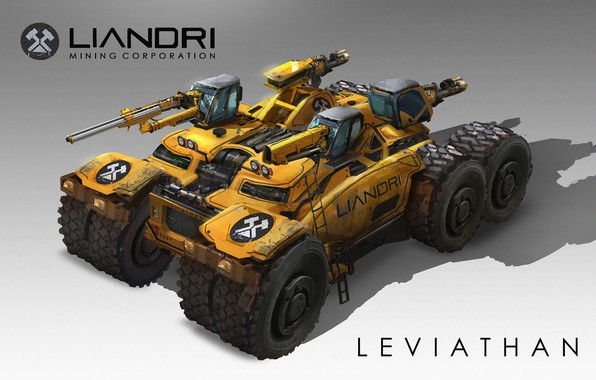 Picture weapons, transport, technique, Leviathan, Unreal Tournament