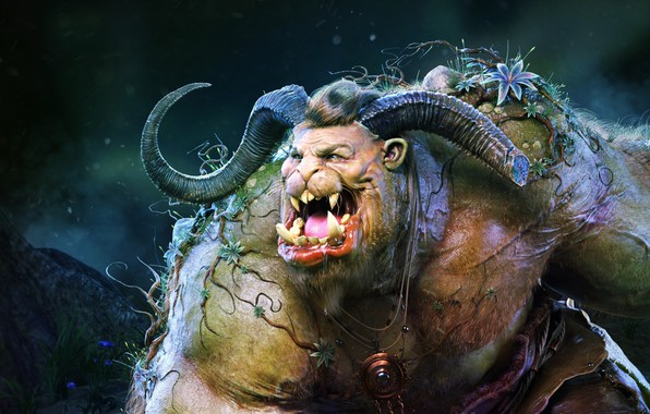 Picture fantasy, Beast Personal Project, Andrey Gritsuk