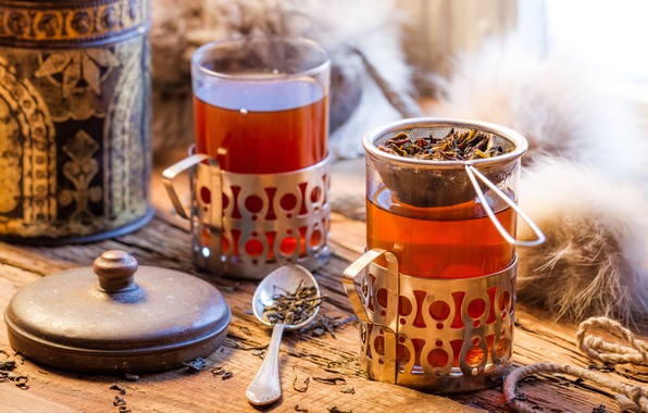 Picture tea, hot, drink