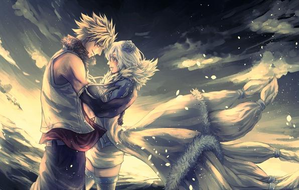 Wallpaper anime, art, fairy tail, Sting Eucliffe, Yukino Aguria images for desktop, section ...