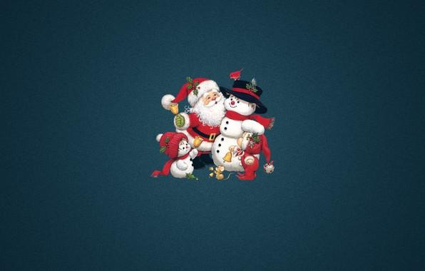 Photo Wallpaper Minimalism Christmas Costume Child New Year Santa Holiday