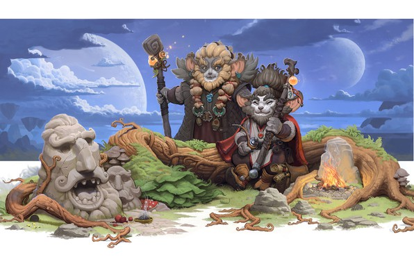 Picture the game, fantasy, art, Allods Online, Dmitry Khrapovitsky