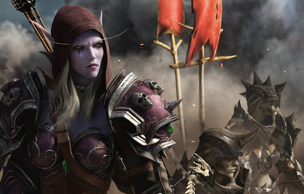 Picture World Of Warcraft, Silvanas Windrunner, The battle for Azeroth, The forsaken