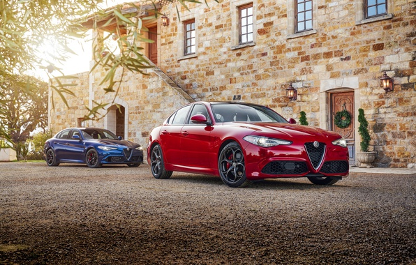 Picture Red, Alfa Romeo, Cars, Giulia, Metallic, 2016-17