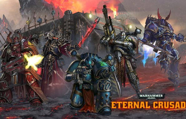 Picture Chaos, raptor, space marines, Word Bearers, 40 000, Warhammer 40 000, warlock, Iron Warriors, Eternal …
