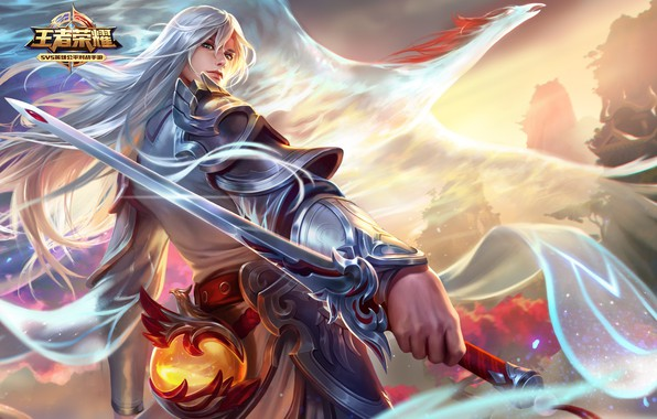 Wallpaper Wang Zhe Rong Yao, the game, art images for ...