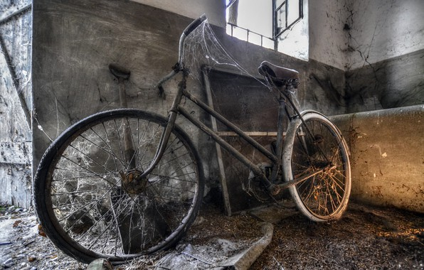 Picture bike, web, the barn