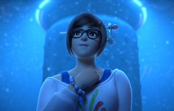 Picture Mei, Overwatch, Rise and Shine