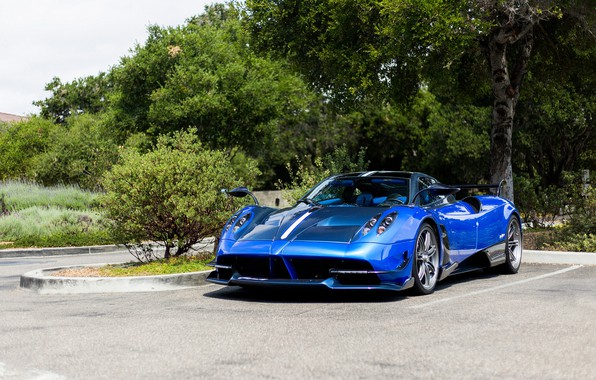 Picture Pagani, Carbon, Blue, To huayr