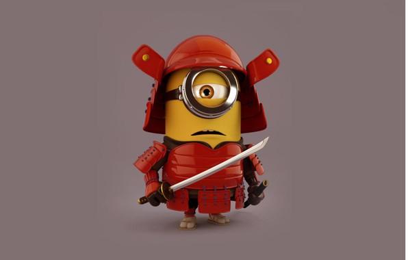 Picture Japan, sword, toy, armor, X-Men, katana, ken, blade, samurai, hero, asian, animated film, Despicable Me, …