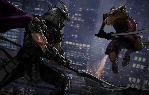 Picture Teenage mutant ninja turtles, tmnt, splinter, Teenage Mutant Ninja Turtles, shredder