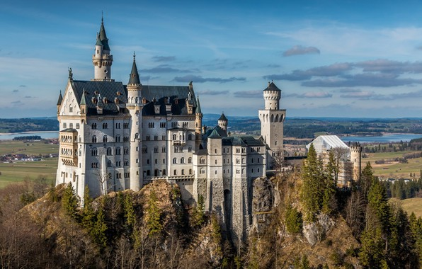 Picture the city, Germany, Germany, Bavaria, Neuschwanstein Castle
