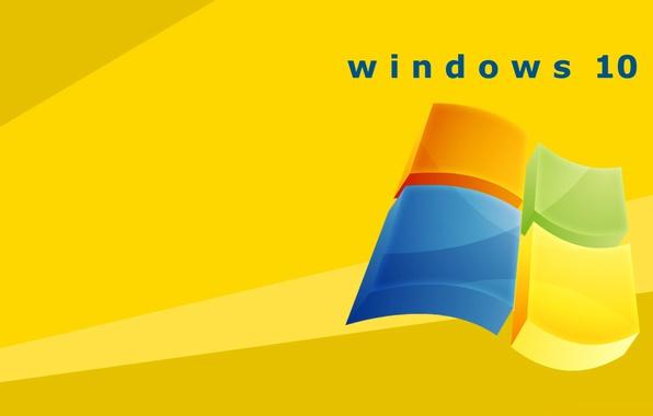 Picture logo, emblem, operating system, windows 10