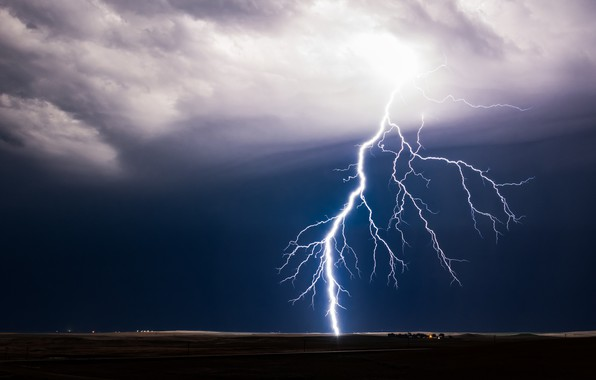 Picture the storm, element, lightning