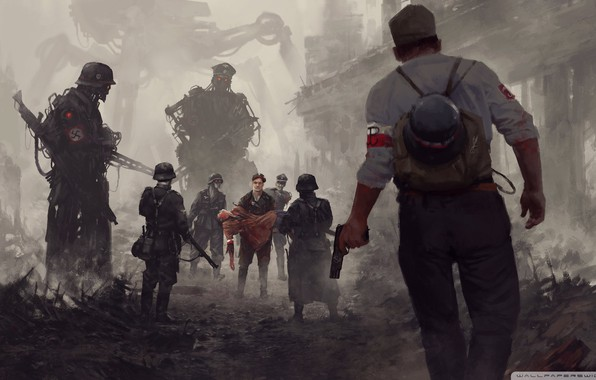 Picture 1944, German Army, Fiction of the Second World, Warsaw Rising