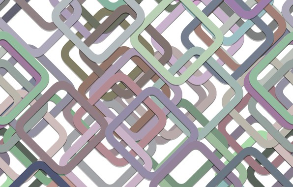 Photo wallpaper abstraction, geometry, squares, multicolor, background