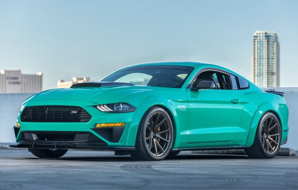 Photo wallpaper Roush, 729, 2018, Ford Mustang