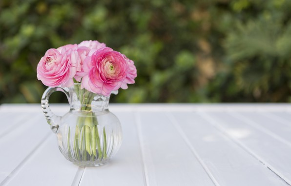 Picture flowers, bouquet, vase, pink, peonies