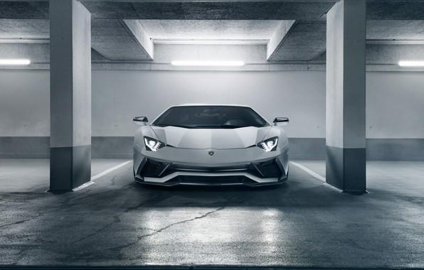 Picture Lamborghini, supercar, front view, 2018, Novitec Torado, Aventador S