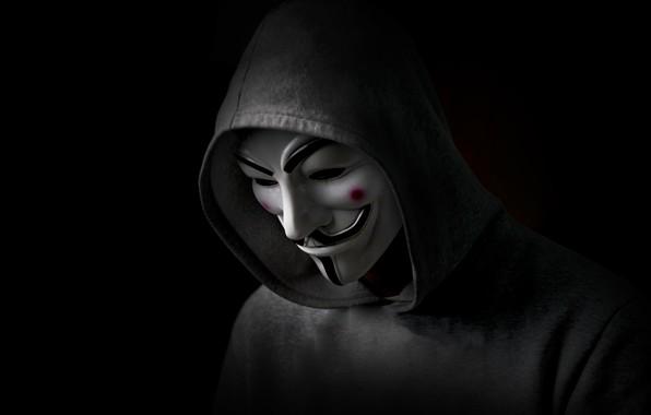 Picture Revenge, Black, Anonymous, Man, Hood, Sight