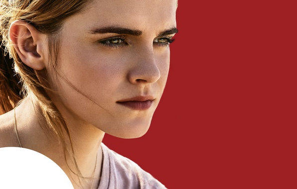 Picture Emma Watson, Emma Watson, Sphere, poster, Knowledge is power, omniscience - the power, The Circle