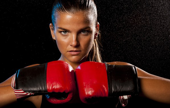 Picture look, pose, Boxing, gloves, workout, Boxing