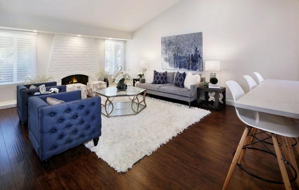 Wallpaper design table sofa carpet furniture for Living room 640x1136