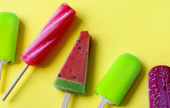 Picture summer, ice cream, dessert, Popsicle
