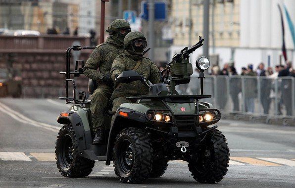 Picture special forces, army, ATV AM 1