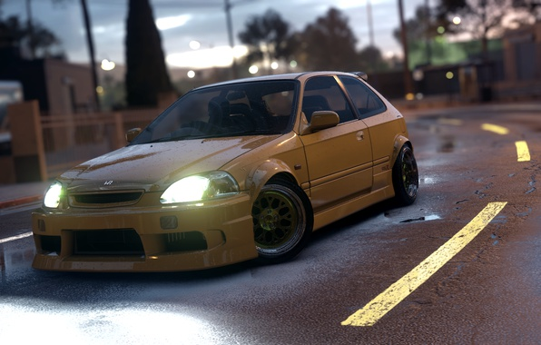 Picture Honda, NFS, NFSPhotosets, Need for Speed 2015
