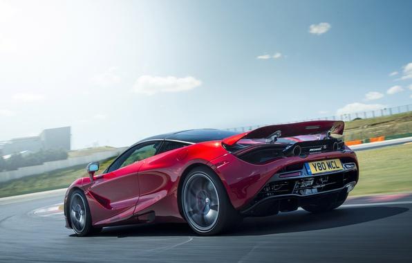 Picture car, McLaren, red, supercar, speed, McLaren 720S