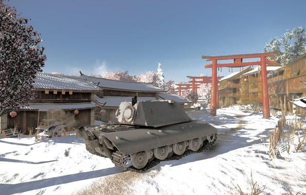 Picture Tank, WoT, E100