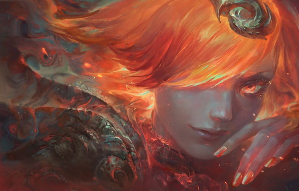Picture fire, Fire, Art, lol, Lux, League of Legends, Lady of Luminosity, Elementalist