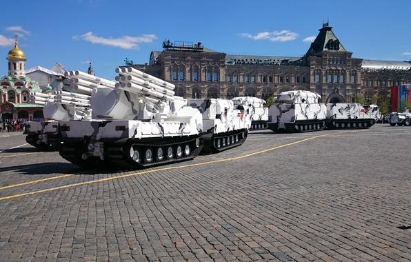 Picture technique, parade, Arctic troops