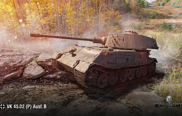 Picture WoT, World of Tanks, Wargaming, VK 45.02 (P) Ausf. B