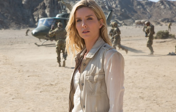 Photo wallpaper cinema, film, helicopter, Mummy, soldier, movie, Annabelle Wallace, Annabelle Wallis