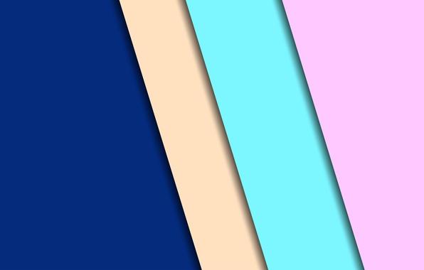 Picture line, blue, green, design, beige, background, color, material