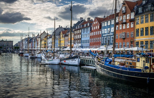 Picture home, Denmark, promenade, Copenhagen