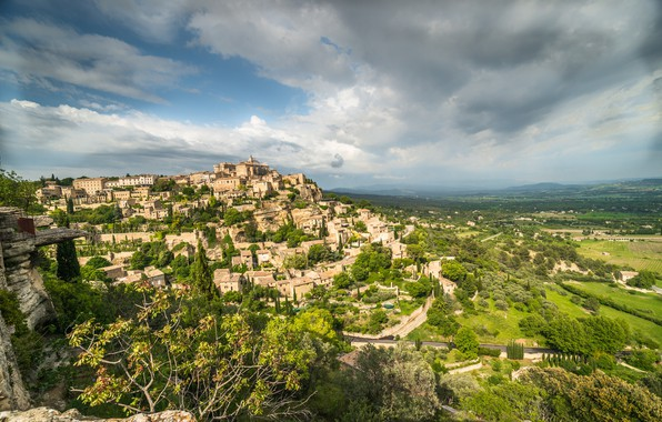Picture France, Home, France, Cote d'azur, Panorama, Cote d'azur, Proud, Gordes, Commune