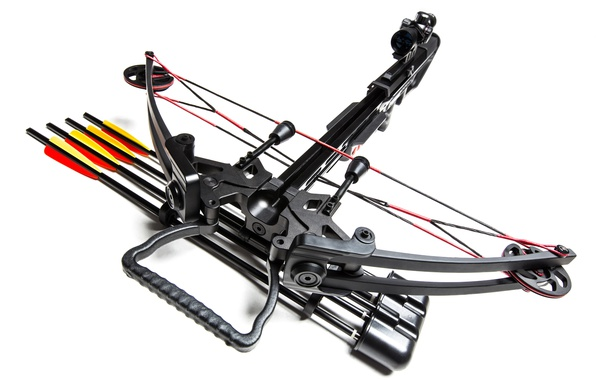 Photo wallpaper crossbow, optical sight, compound crossbow, You Kung, arrow bowstring, MK-400, 4x32EG, blur, the speed of ...