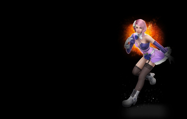 Picture the game, anime, art, character, Tekken 6, Alice Soul Series, robot gynoid, Ariza, Boskonovitch