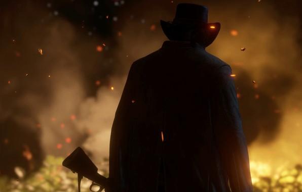 Ipad Retina Hd Wallpaper Rockstar Games: Wallpaper Cowboy, Wild West, Red Dead Redemption, Cowboy